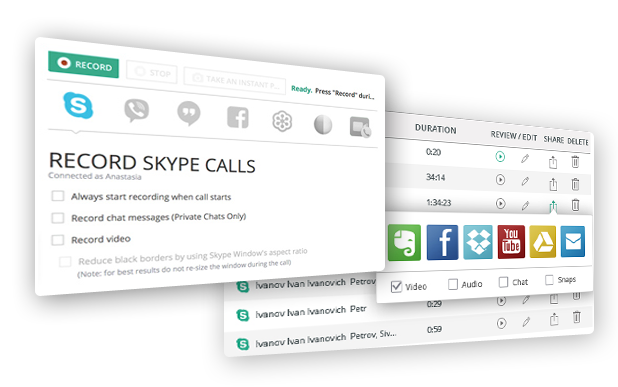Record Skype Video Calls with Callnote on Mac and PCCallnote