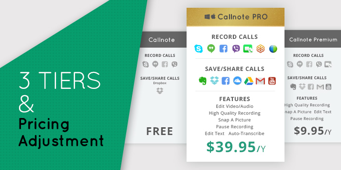 Callnote Video Call Recorder version 5